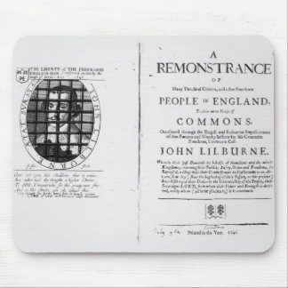 A remonstrance by the Levellers Mousepad