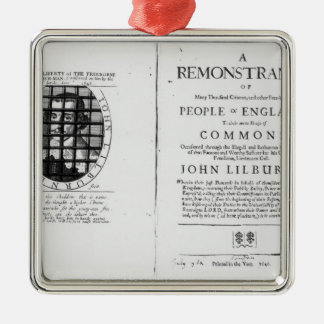 A remonstrance by the Levellers Christmas Tree Ornaments