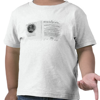 A remonstrance by the Levellers Tshirts