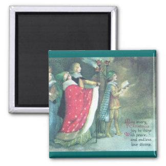 A Renaissance Procession Vintage Christmas Magnet