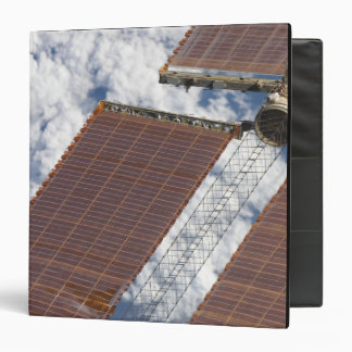 A repaired solar array binder