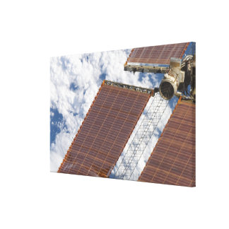 A repaired solar array canvas print