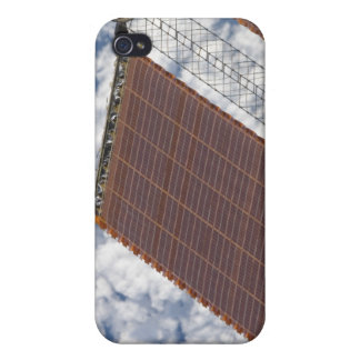 A repaired solar array iPhone 4 case