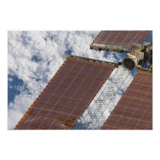 A repaired solar array poster