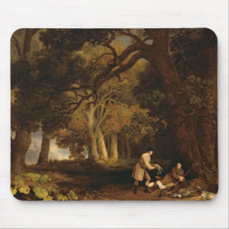 A Repose After Shooting (oil on canvas) Mouse Pad