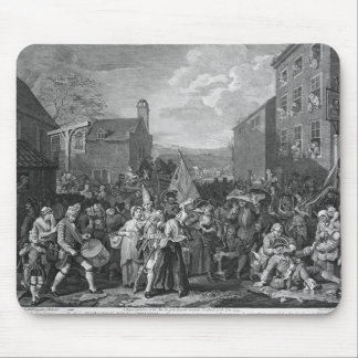 A Representation of the March of the Guards Mouse Pad