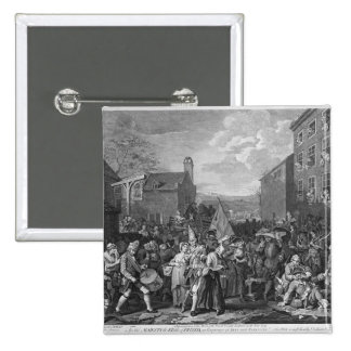 A Representation of the March of the Guards Pinback Button