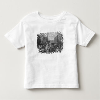 A Representation of the March of the Guards Toddler T-shirt