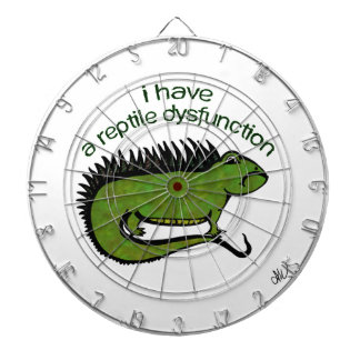 A Reptile Dysfunction Dartboard