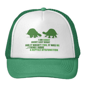A Reptile Dysfunction Trucker Hat