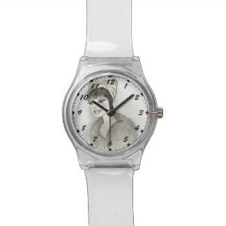 A Retro Girl Wrist Watch