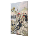 A Revolt of French Anarchists in Guyana Canvas Print