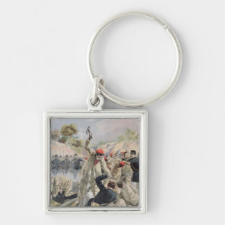 A Revolt of French Anarchists in Guyana Keychain