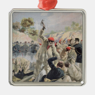 A Revolt of French Anarchists in Guyana Metal Ornament