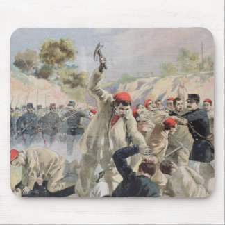 A Revolt of French Anarchists in Guyana Mouse Pad
