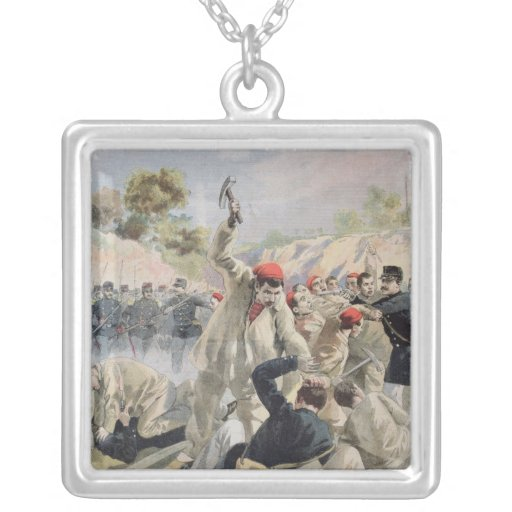 A Revolt of French Anarchists in Guyana Pendants