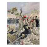 A Revolt of French Anarchists in Guyana Postcard