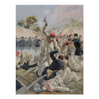 A Revolt of French Anarchists in Guyana Poster
