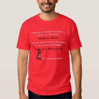 A revolution cometh t-shirt