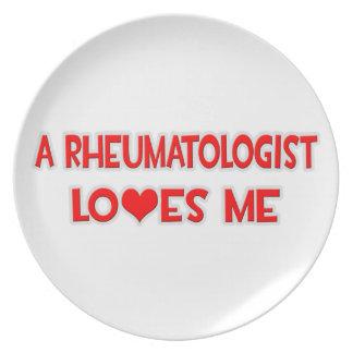 A Rheumatologist Loves Me Plates