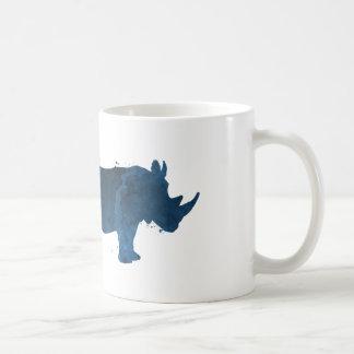 A rhino coffee mug