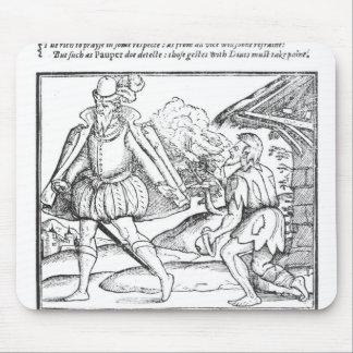 A Rich Man Spurns a Ragged Beggar Mouse Pad