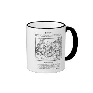 A Rich Man Spurns a Ragged Beggar Coffee Mugs