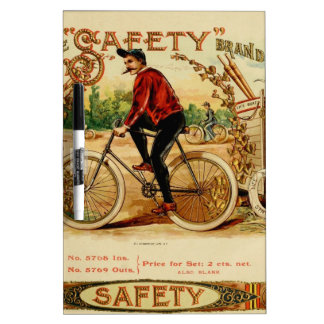 A ride and a smoke, relax enjoy be safe Dry-Erase whiteboards