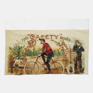 A ride and a smoke, relax enjoy be safe hand towels