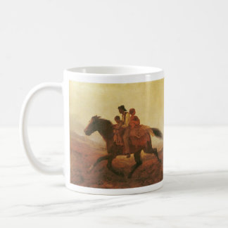 A Ride for Liberty The Fugitive Slaves by Johnson Classic White Coffee Mug