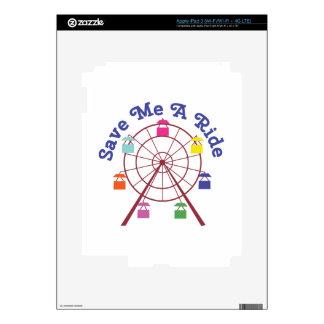 A Ride iPad 3 Skin