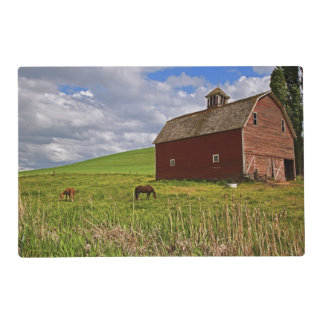 A ride through the farm country of Palouse 3 Placemat
