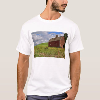 A ride through the farm country of Palouse 3 T-Shirt