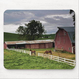 A ride through the farm country of Palouse 4 Mouse Pad