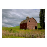 A ride through the farm country of Palouse 4 Print