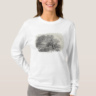 A Rider Distracted by a Flock of Birds T-Shirt
