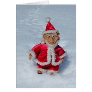 A RIGHT JOLLY OLD ELF. GREETING CARD