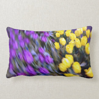 A Riot of Tulips in mid-town Manhattan Throw Pillow