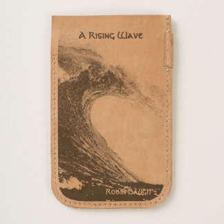 """A Rising Wave"" iPhone 7 & 6/6s Leather Case"