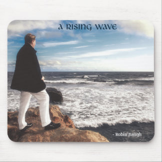 """""""A Rising Wave"""" Mouse Pad"""