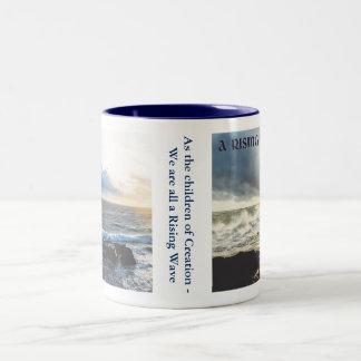 """A Rising Wave"" mug"