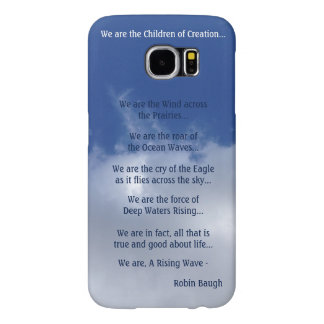 """""""A Rising Wave"""" Samsung Galaxy S6 Custom Case"""