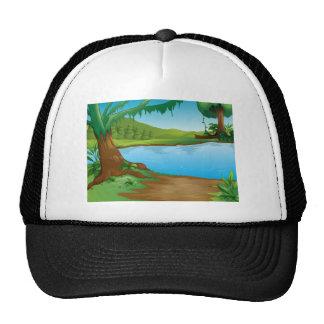 A river mesh hats