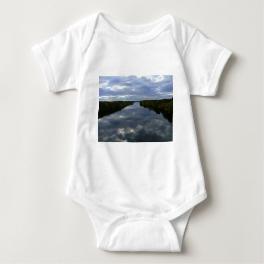 A river in Maine Baby Bodysuit