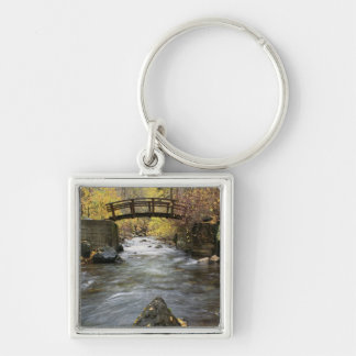 A River Running Through American Fork Canyon Keychain