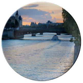 A River Runs through It Porcelain Plate