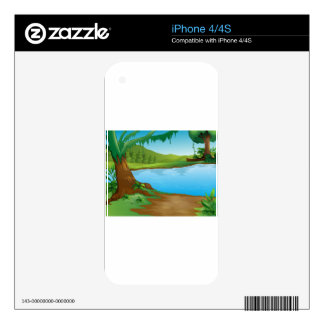 A river skin for the iPhone 4S