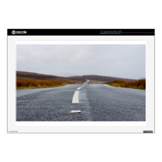 """A road leading to horizon decal for 17"""" laptop"""