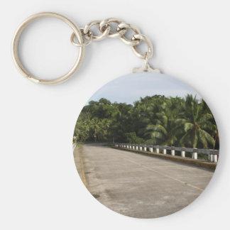 A road on Samar Basic Round Button Keychain