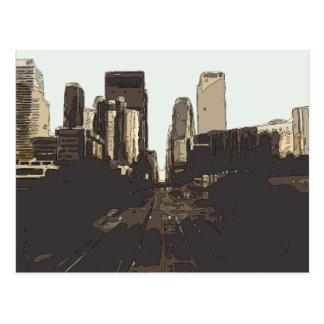 A Road Trip to San Francisco Postcard